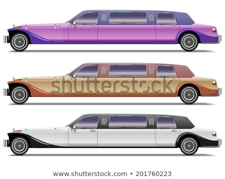 Luxury old limousine for the wedding Stock photo © carenas1