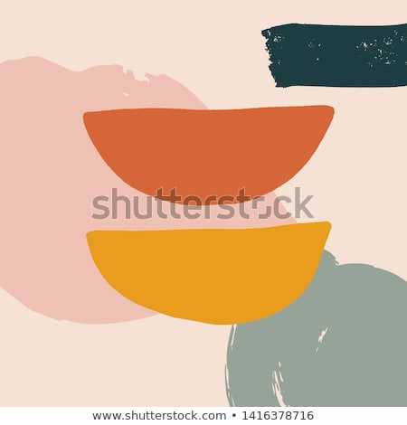 stylish memphis background with abstract shapes Stock photo © SArts