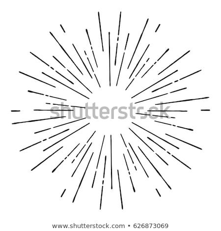 Сток-фото: вектора · взрыв · линия · аннотация · технологий · науки