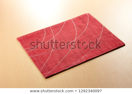 red place mat Stock photo © Digifoodstock