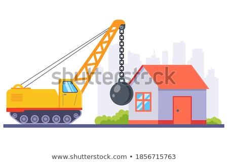 Demolished house Stock photo © 5xinc