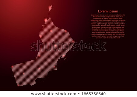 Umman uzay kırmızı görmek yörünge 3d illustration Stok fotoğraf © Harlekino