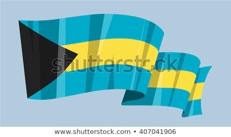 Bahamas waving flag stock photo © Amplion