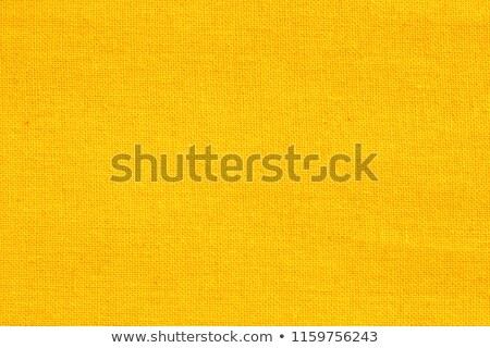 yellow linen fabric Stock photo © LightFieldStudios