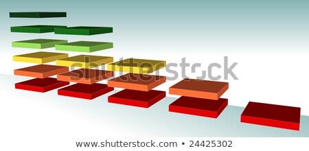 Sales Growth - Business Mode Concept. 3D. Stock photo © tashatuvango