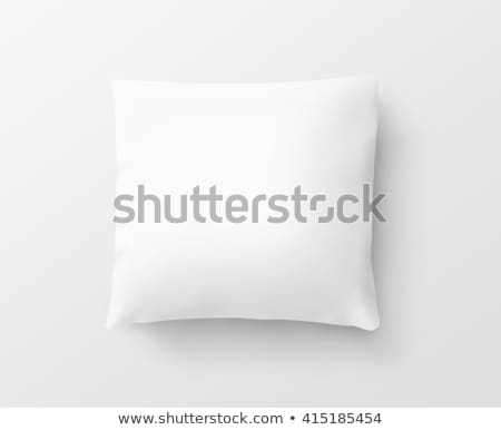 Comfortable Pillow Template, White Background Stock photo © robuart