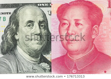 US dollar versus China yuan Stock photo © kenishirotie