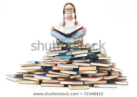 группа · детей · чтение · книгах · дети · изучения - Сток-фото © liolle
