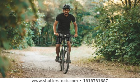 wild middle aged man sports exercise stock photo © toyotoyo