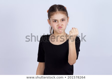 Angry Little Tick Stock photo © cthoman