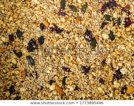 куча · пшеницы · текста · изолированный · белый · продовольствие - Сток-фото © artjazz