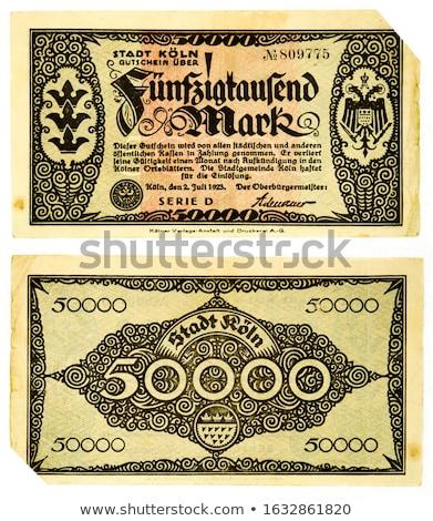 Inflacja Niemcy gospodarki finansowych rynku towary Zdjęcia stock © Lightsource