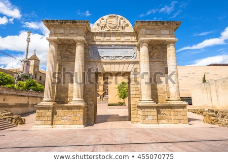 Gate of the Bridge in Cordoba Stock photo © benkrut