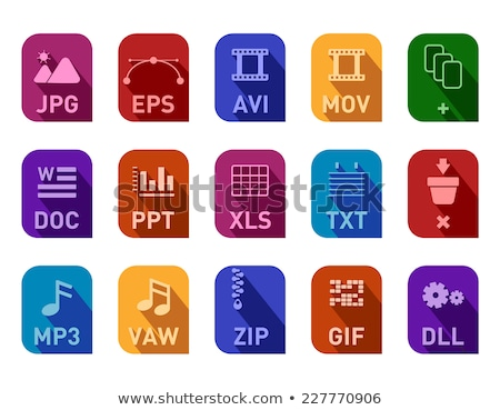 Archivos documentos ordenador portátil teléfono móvil Foto stock © cifotart