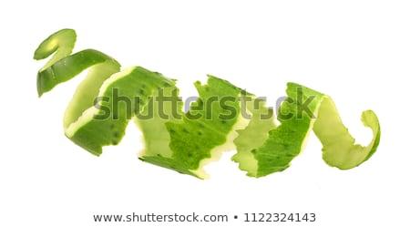 Peeled cucumber Stock photo © Hofmeester