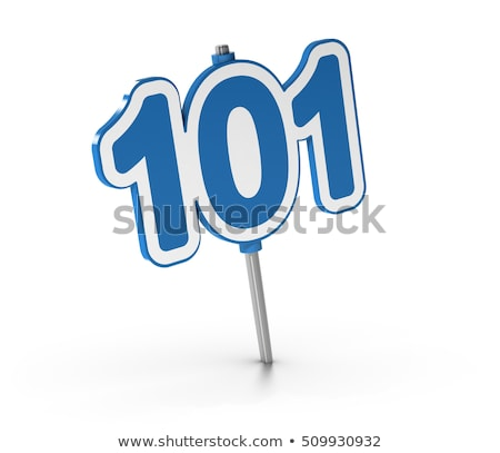 101, Introductory course, beginner's level. One Hundred And One Stock photo © olivier_le_moal