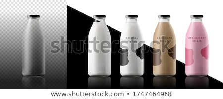 Blank containers for juice or milk Stock photo © magraphics