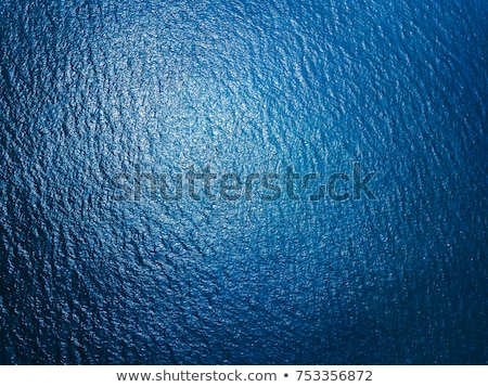 Aerial top view water surface background. Bird eye sea surface p Stock photo © artjazz