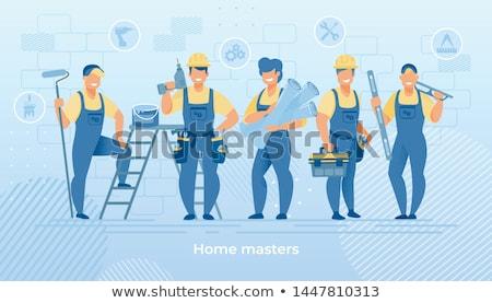 Professional repairman Stock photo © pressmaster