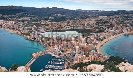 aéreo · panorama · punto · vista · mediterráneo · mar - foto stock © amok