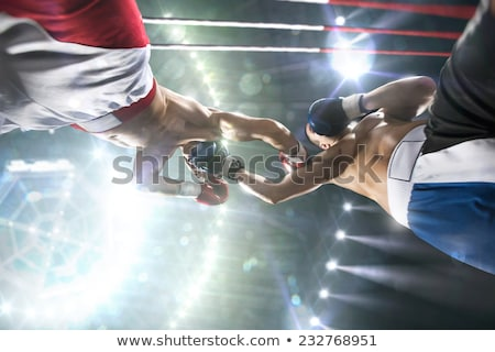preparing for boxing competition stock photo © pressmaster