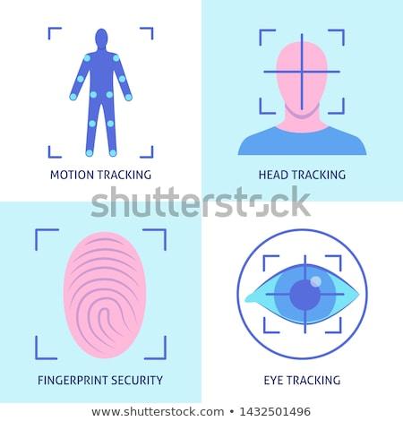 Eye tracking technology concept vector illustration. Stock photo © RAStudio