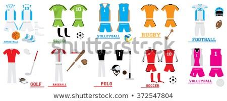 Polo objects, Sport uniform Stock photo © netkov1
