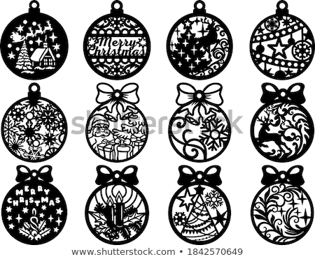 AT HOME. Vector decorative zentangle object for decoration Stock photo © Natalia_1947