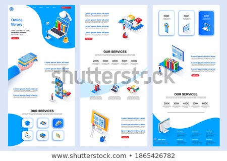 Corporate literature concept banner header. Stock photo © RAStudio