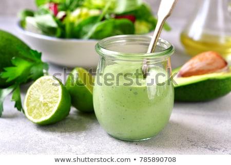 avocado sauce Stock photo © tycoon