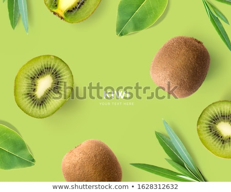 Abstract kiwi background stock photo © noche