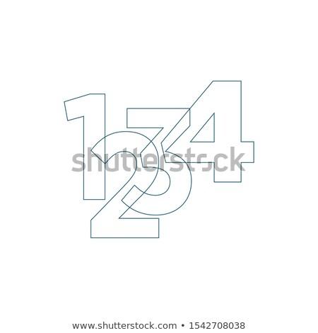 математика расчет линейный икона презентация Сток-фото © kyryloff
