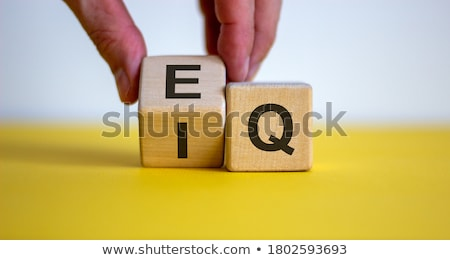 IQ Versus EQ Emotional Intelligence Concept Stock photo © ivelin