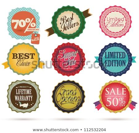 En İyi seçim satış prim satın almak Stok fotoğraf © robuart