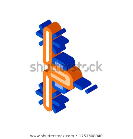 Agronomy Seeding Trailer isometric icon vector illustration Stock photo © pikepicture