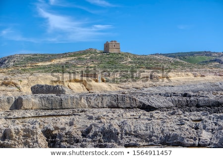 old watchtower on gozo island in malta Stock photo © travelphotography