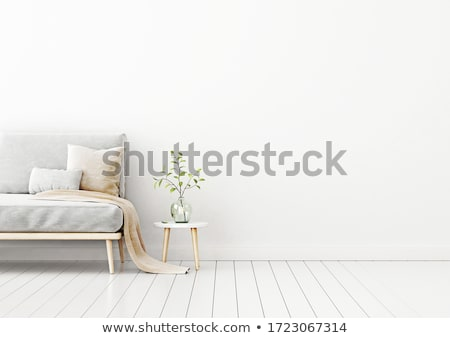 Minimalistic living-room Stock photo © magraphics