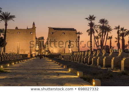 ancient relief at Luxor Temple Stock photo © prill