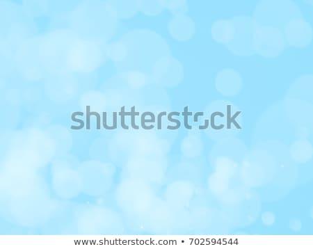 темно голубой пузырьки аннотация свет синий Сток-фото © latent