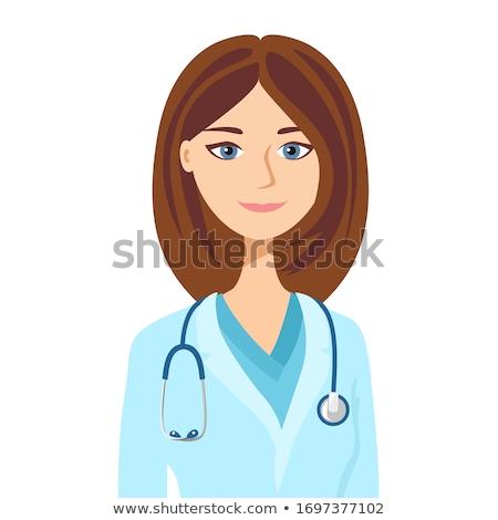 przyjazny · kobiet · lekarza · szpitala · działalności · szczęśliwy - zdjęcia stock © Nobilior