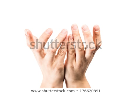 рук женщины красочный фары фон помочь Сток-фото © photosil