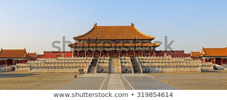 Stock photo: detail of the Forbidden City in Beijing