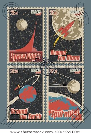 Soviet post stamp Stock photo © Taigi