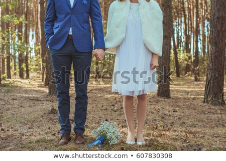 bride in teared wedding dress Stock photo © ssuaphoto