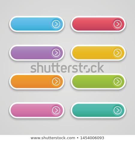 web · botón · aislado · blanco · Internet · diseno - foto stock © tashatuvango