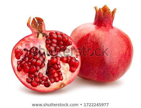 two fresh pomegranates stock photo © feedough