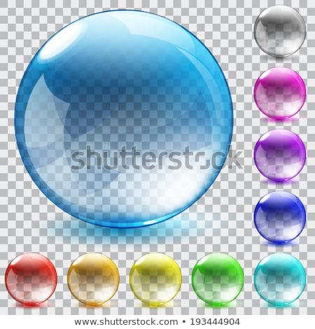 Glass marbles/button sphere  Stock photo © oblachko