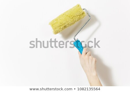 Decorator using roller to paint Stock photo © photography33