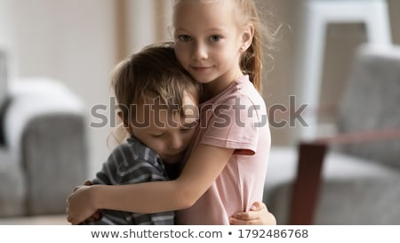 Sisters hugging Stock photo © photography33