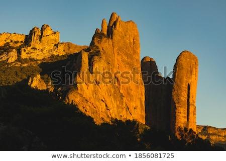 Riglos Mountains Stock photo © pedrosala